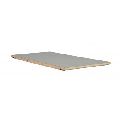 Prailginimas, skirtas ovaliam valgomojo stalui Dawson, 45 cm (pilka / balinto ąžuolo)
