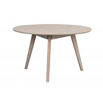 Apvalus kavos staliukas Yumi, 90 cm (balkšva)