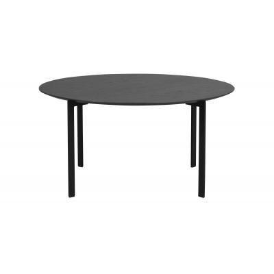Kavos staliukas Spencer, 90 cm (juodos spalvos ąžuolas / juoda)