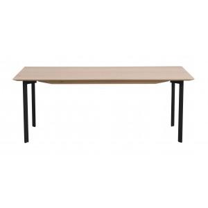 Kavos staliukas  Spencer, 120x60 cm (balinto ąžuolo / juoda)