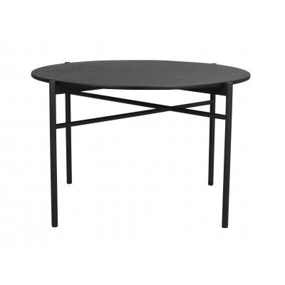 Valgomojo stalas Skye, 120 cm (juodos spalvos ąžuolo / juoda)