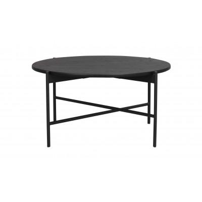 Kavos staliukas Skye, 85 cm (juodos spalvos ąžuolas / juoda)