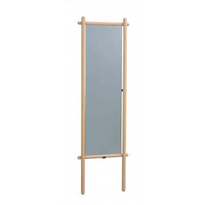 Pastatomas veidrodis Memphis, 52x180 cm (ąžuolo)
