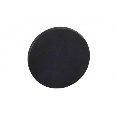 Sieninis drabužių kabliukas Memphis, 12 cm, juodos spalvos ąžuolo, 10 vnt.