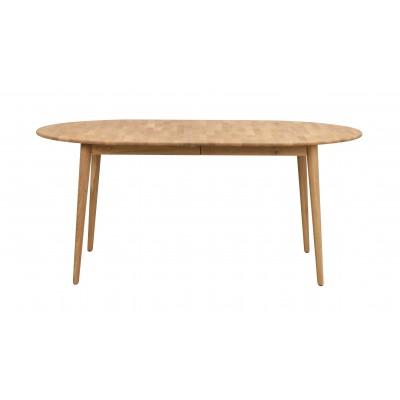 Valgomojo stalas Tyler, ovalus, 170/210 cm, su 40 cm įdėklu (ąžuolo spalvos)