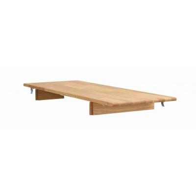 Valgomojo stalo įdėklas Tyler, 40 cm, ąžuolas (ąžuolo / ąžuolo spalvos)