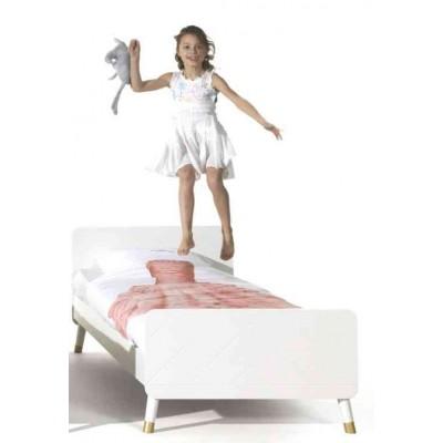 Lova Billy bed, balta, 90x200 cm