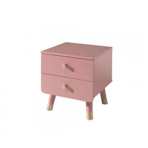 Naktinis staliukas Billy, rožinės spalvos