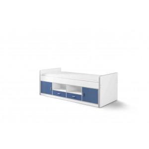 Korpusinė lova Bonny, mėlyna *