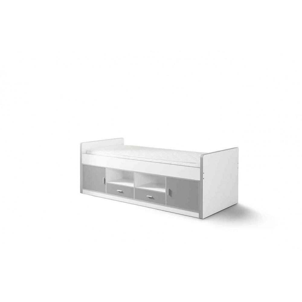 Korpusinė lova Bonny, sidabro