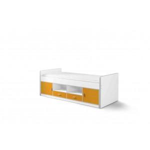 Korpusinė lova Bonny, oranžinė