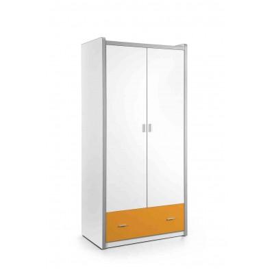 Drabužių spinta Bonny, 2 durų, oranžinė