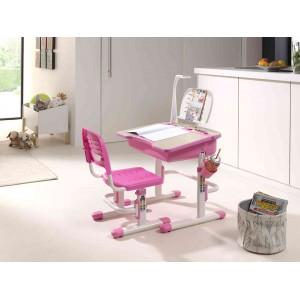 Rašomasis stalas Comfortline 301, rožinis