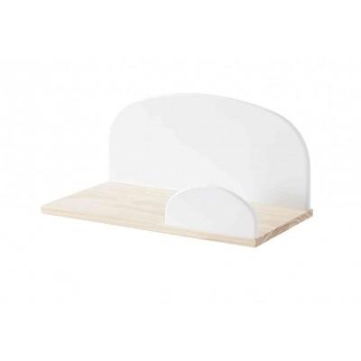 Sieninė lentyna Kiddy, 45 cm, balta