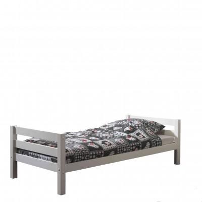 Viengulė lova Pino, 90x200 cm, balta