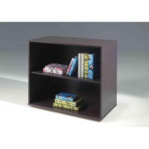 Knygų lentyna Pino, skirta pusaukštei lovai, rusvai pilka