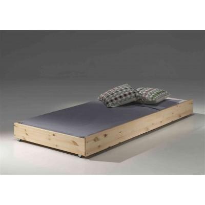 Stalčius po lova Pino, 90x195 cm, natūrali
