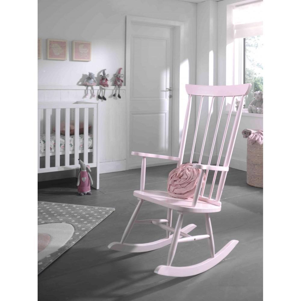Supama kėdė Rocky, rožinė