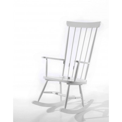Supama kėdė Rocky, balta