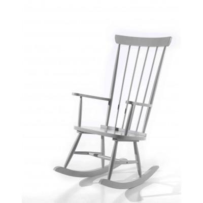 Supama kėdė Rocky, pilka