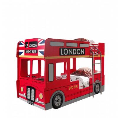 Dviaukštė lova Londono autobusas