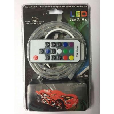 Lovos-mašinos šviesos diodų (led) apšvietimo juostelė
