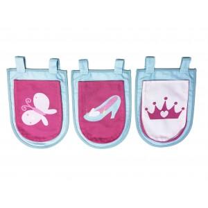 3 kišenėlės Princess