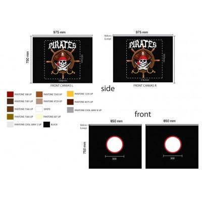 Užuolaida Pirate